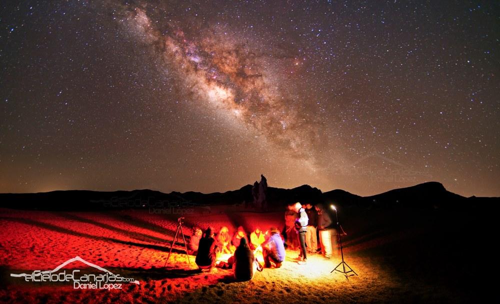 Bajo la luz de las estrellas