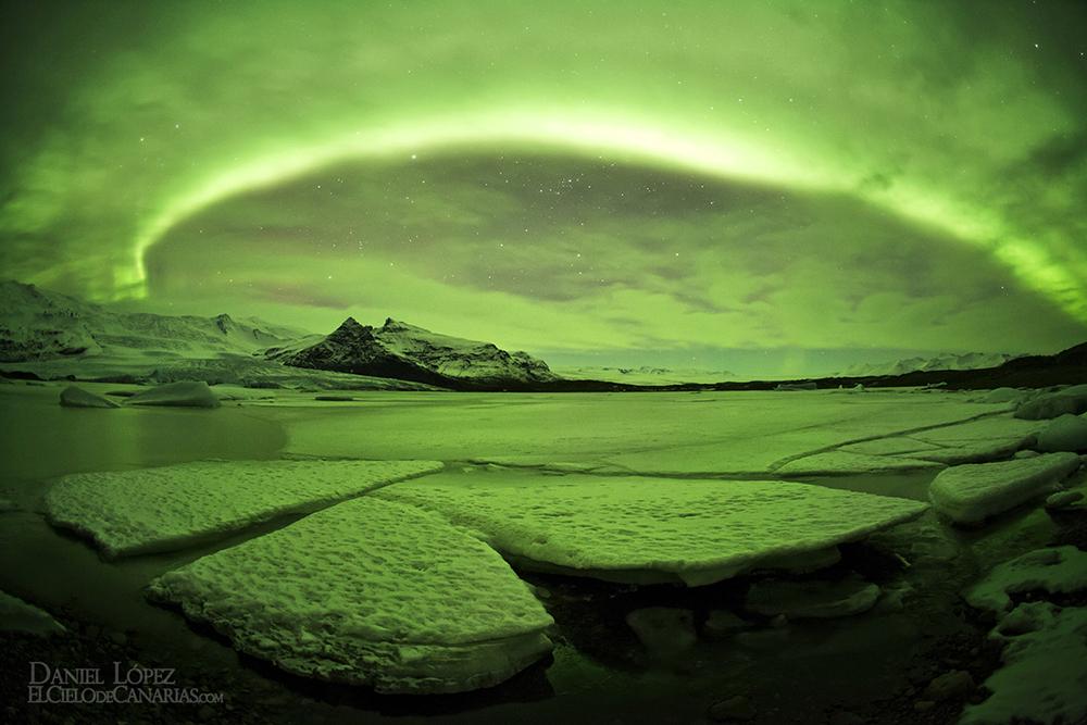 05 Glaciar Vatnajökull Aurora Arco peque
