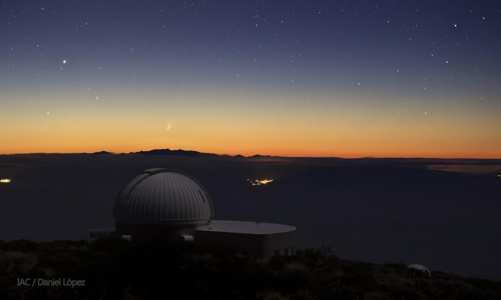 ISON comet DLopez