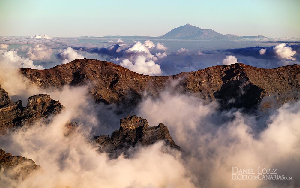 Teide desde La Palma