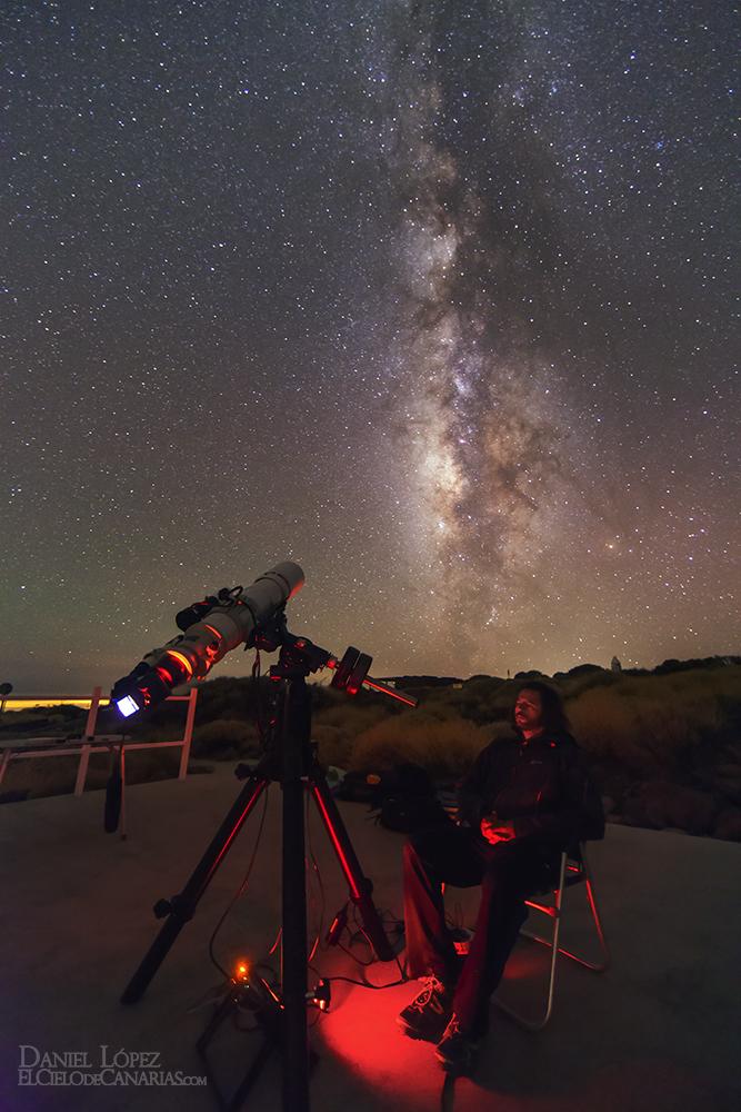 daniel telescopio lactea