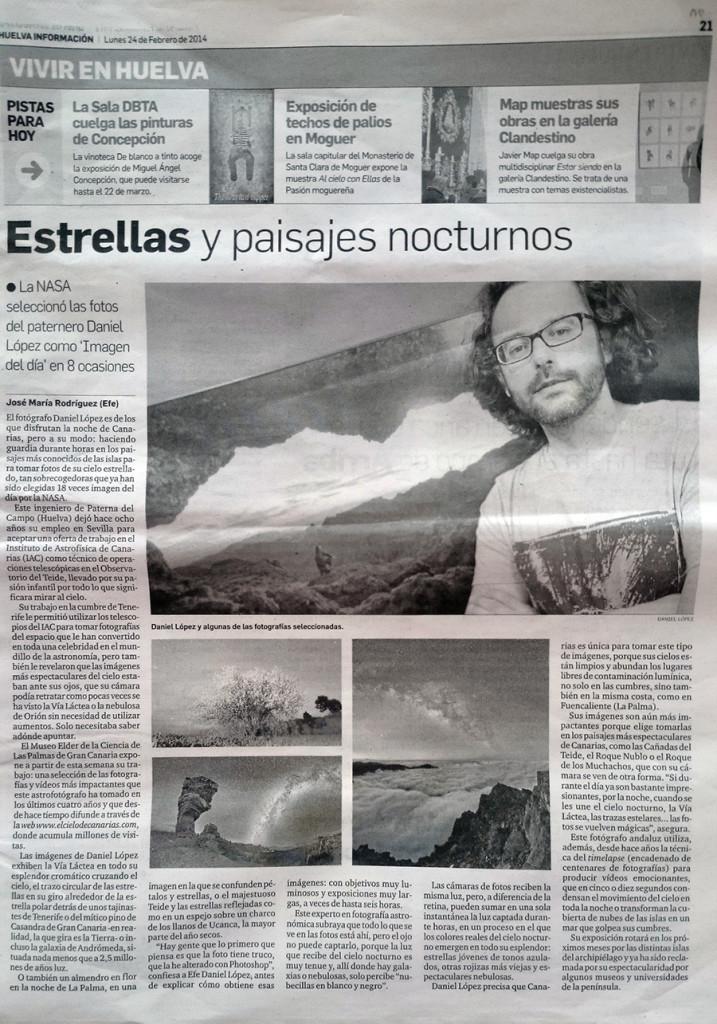 Huelva informacion