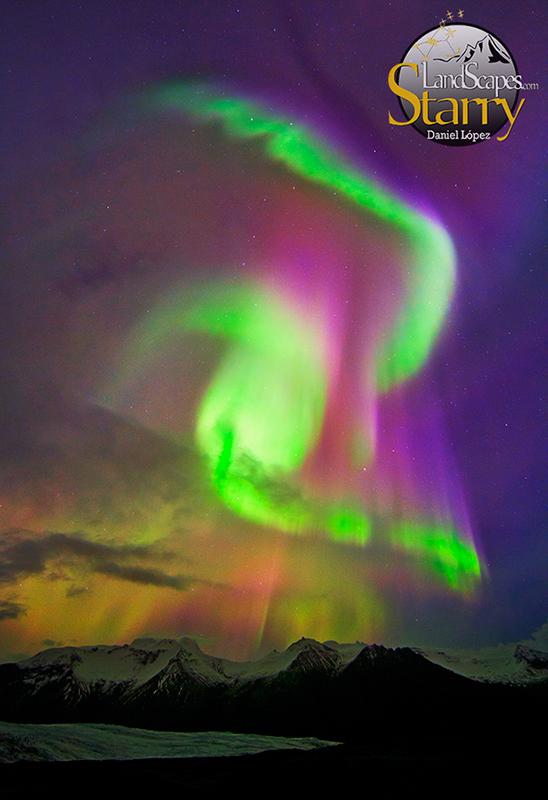 Aurora formas Islandia 01