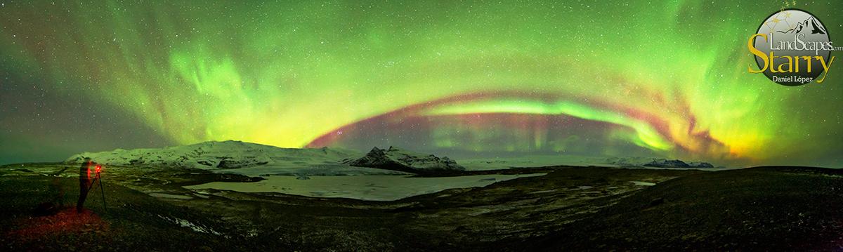 Panorámica Glaciar Vatnajökull DLopez