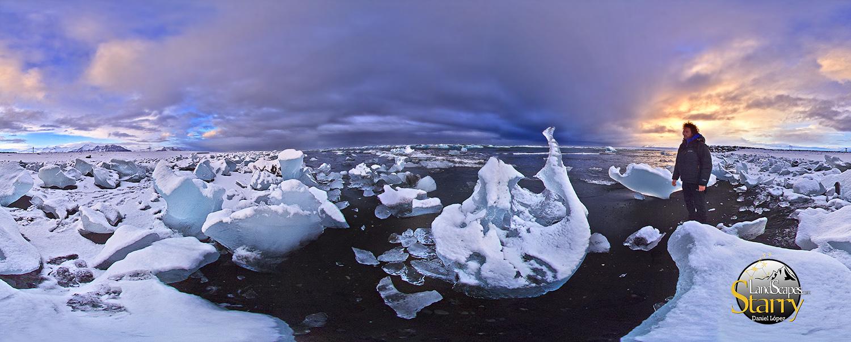 Playa de los hielos Islandia