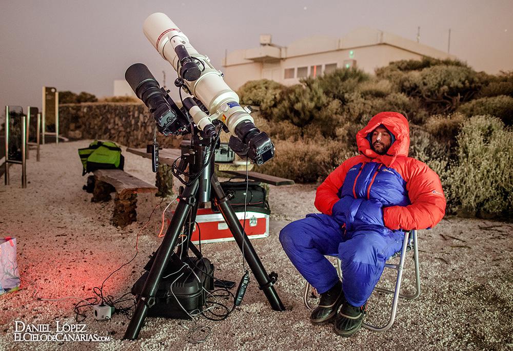 Observando al cometa